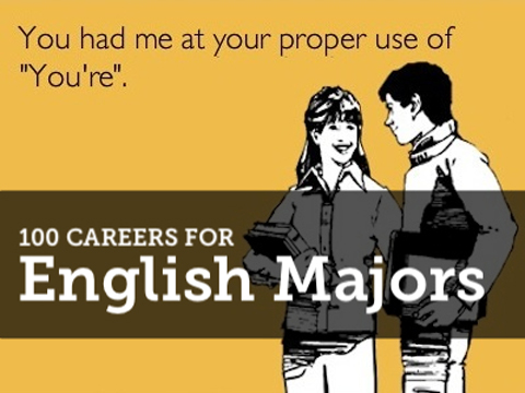 careers for english creative writing majors