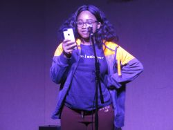Photo of Aaliyah Davy at Voices Up