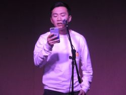 Photo of Brian Lin at Voices Up