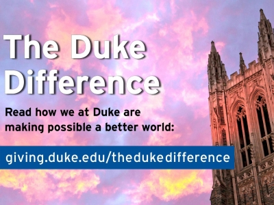 Duke difference logo