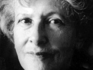 Photo of Denise Levertov.  Courtesy of Poetry Foundation